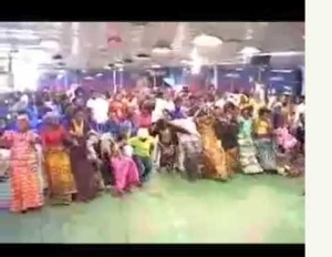 Pastor Performing Deliverance In A Strange Way (Watch Video)
